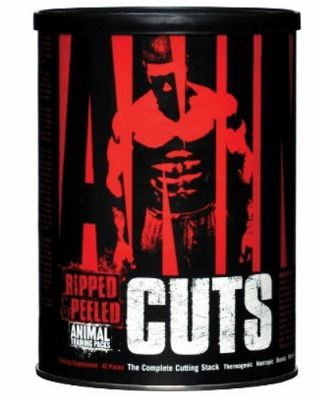 Fatburner Animal Cuts für Körperfettreduktion + Gewichtsabnahme