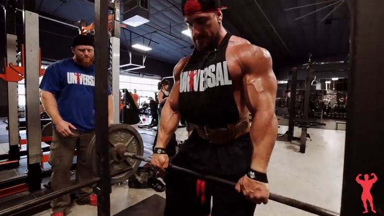 Rack Pull Lattissimus Training