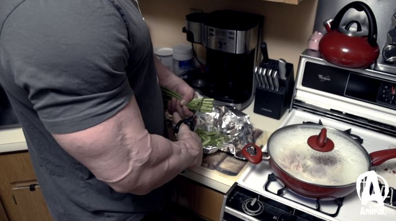 Gesund Masse aufbauen mit Gemüse