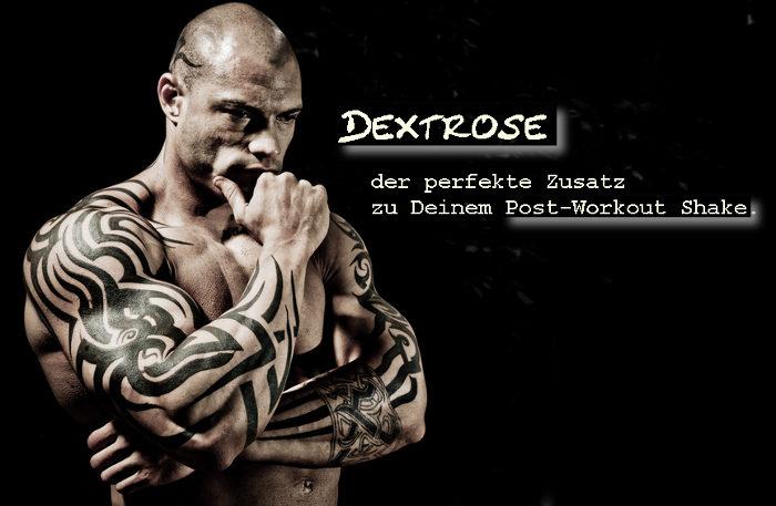 Dextrose im Post-Workout Shake