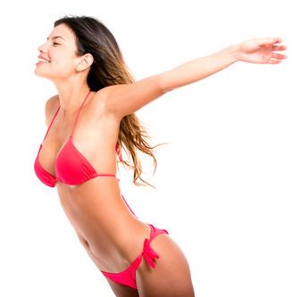 Bodybuilding und Cardiotraining für Bikini Figur