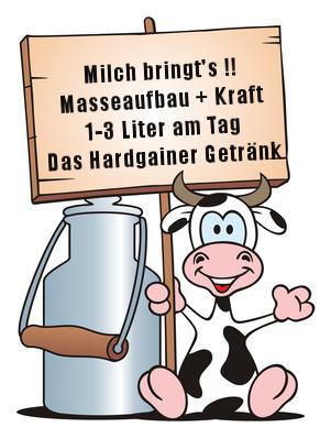 Milch für Masseaufbau und Gewichtszunahme