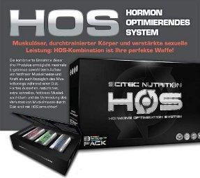 Testosteron Booster Scitec HOS Alternative zu anabolen Steroiden