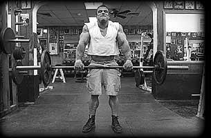 Schulterübung Shrugs