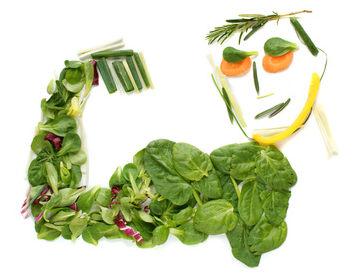 Spinat für den Muskelaufbau