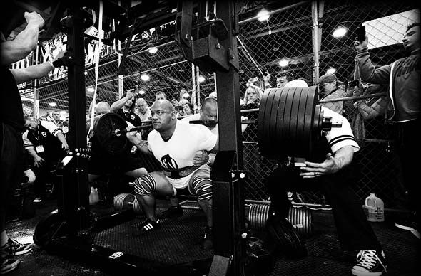 Arnold Expo 2013 The Cage