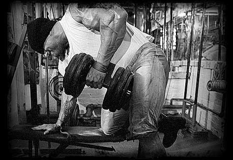 Muskelaufbau durch mehr Trainingsintensität